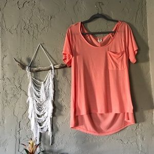 Roxy ~ NWOT coral T